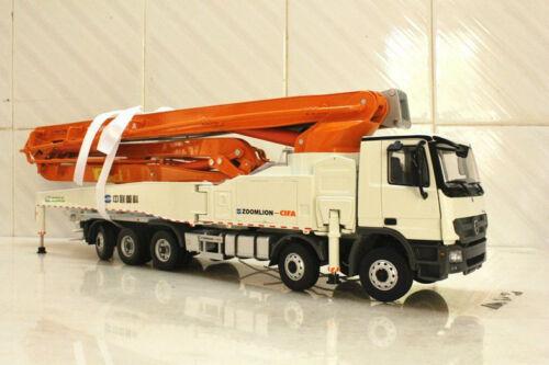 1:38 ZOOMLION 64X-6RZ Carbon fiber boom concrete pump model