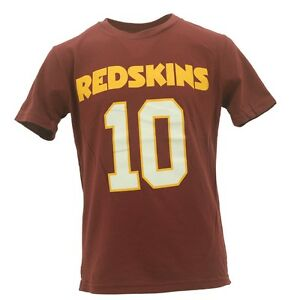 size 40 c7871 1ca82 Details about NFL Youth Size Washington Redskins Robert Griffin III NFL Fan  Apparel T-Shirt