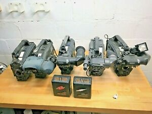 Professional-5-Camera-Lot-Pansonic-amp-Sony