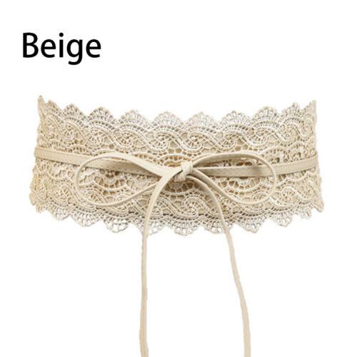 Spitze Super Breite Gürtel Frauen Breite Taille Dichtung Damen Brautkleid Gürtel