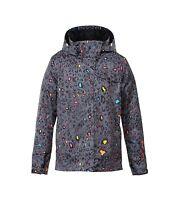$160 Roxy Jetty Women's Snowboard Jacket 10K Insulate Ski Cazadora Print Size XS