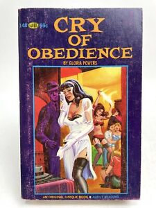 CRY OF OBEDIENCE Gloria Powers UNIQUE 148 Erotica 1ST PRINTING