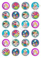 RICE PAPER BIRTHDAY MOVIE 24 30 //personalised-TROLLS CUPCAKE TOPPERS