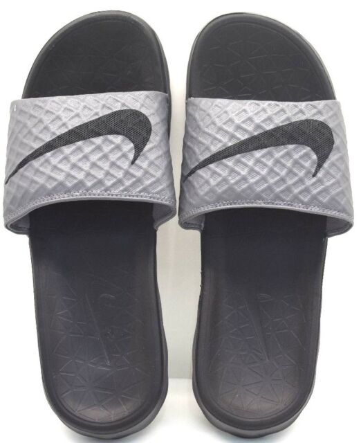 ce6e4bcbcf8a3 Nike Benassi Solarsoft Dark Grey - Black US Size 12 - FREE SHIPPING BRAND  NEW