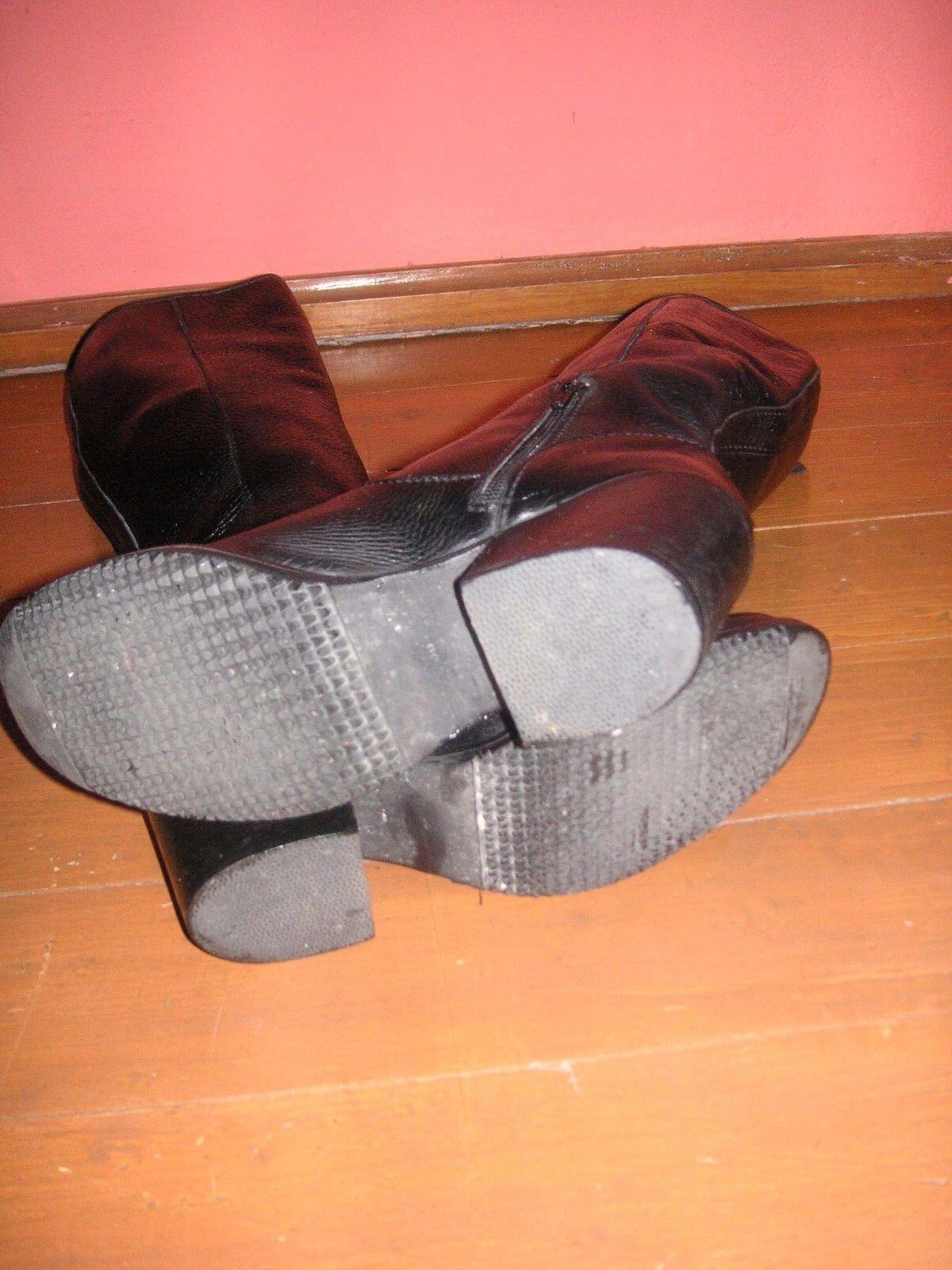 Super Super Super Top Schuhe, Stiefel schwarz Größe 38