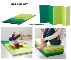 ikea plufsig folding gym mat exercise kids child play soft. Black Bedroom Furniture Sets. Home Design Ideas