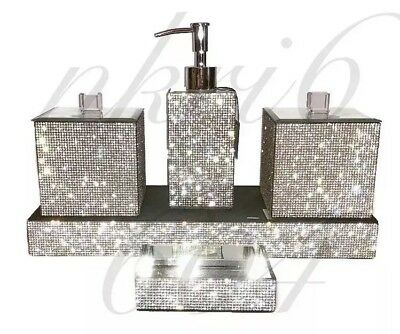 Bella Lux Rhinestone Crystal Bathroom