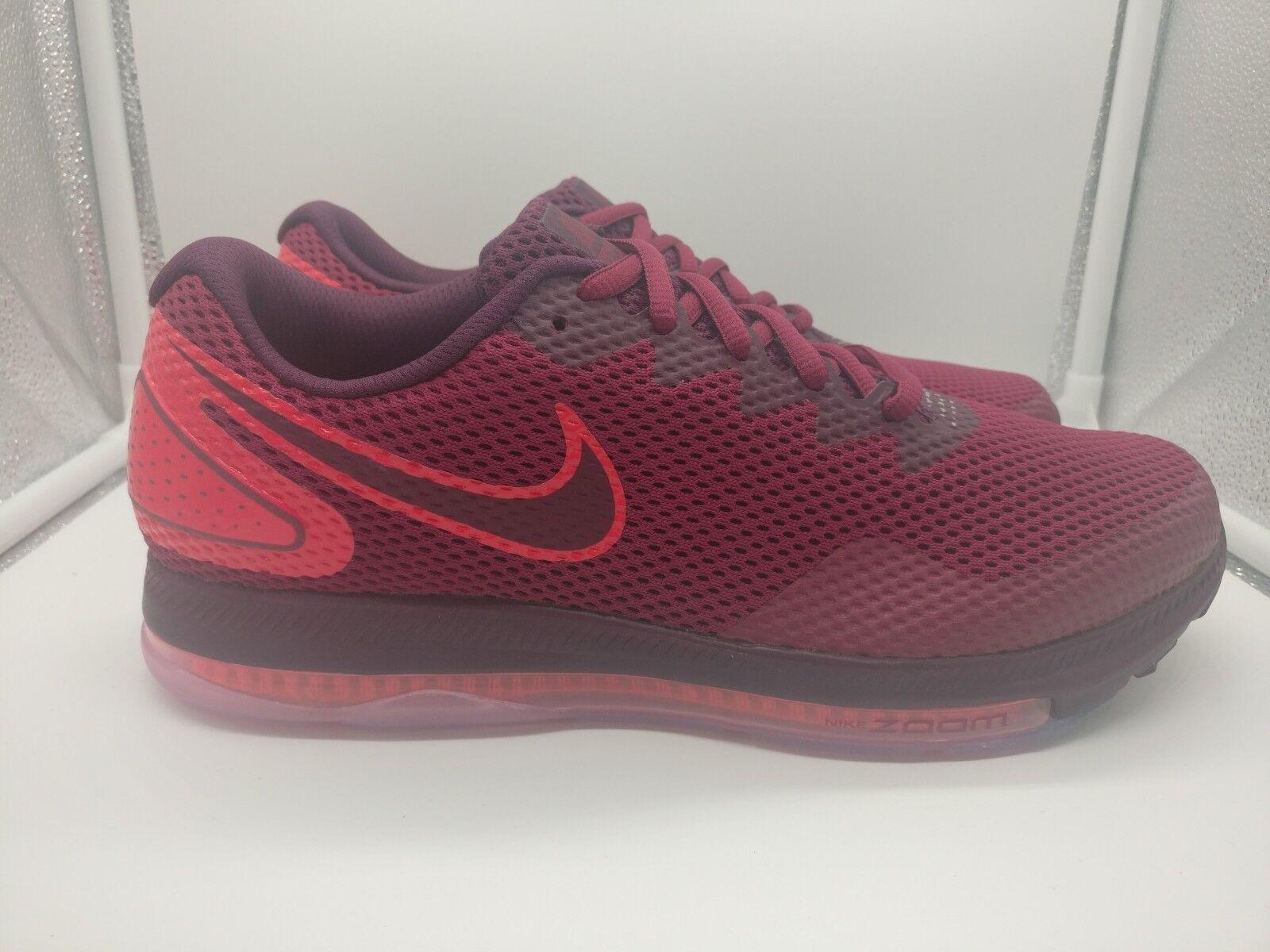 Nike Damenschuhe Zoom All Out Niedrig 2 2 2 UK 8 Rush Maroon Blush AJ0036-600 a917ea