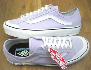 18b837f91240 Vans Mens Style 36 Decon SF Salt Wash Lavender Fog Purple White ...