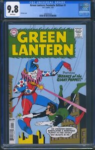 Green-Lantern-1-DC-CGC-9-8-White-Pages-Facsimile-Edition-Reprint
