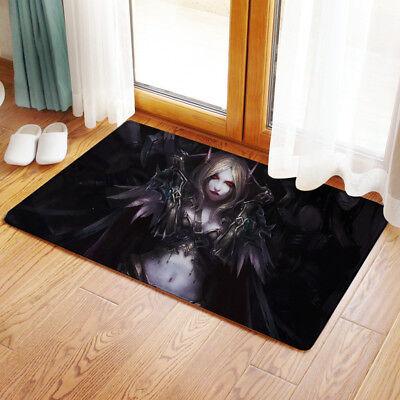 Anime High School DXD WC Bedroom Bathmat Rug Toilet Floor Cover Carpet Non-slip