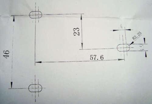 HT6513 DC12V Small Electric Cabinet Lock Cierre electrico