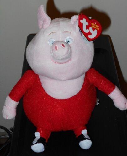 Ty Beanie Baby Babies ~ GUNTER the Pig (SING Movie)(7 Inch) NEW MWMT
