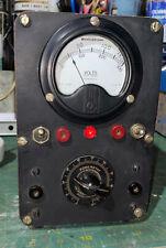 Powerstat Variant Westinghouse Mr35w3000dcvv Meter Tested Vintage
