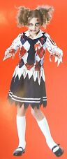 Youth Girl Tween Zombie School Girl Costume Sz Medium (8-10) NEW