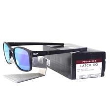 3f48ef6ff09 item 2 Oakley OO 9353-04 POLARIZED LATCH SQ Matte Black Violet Iridium Mens  Sunglasses -Oakley OO 9353-04 POLARIZED LATCH SQ Matte Black Violet Iridium  Mens ...