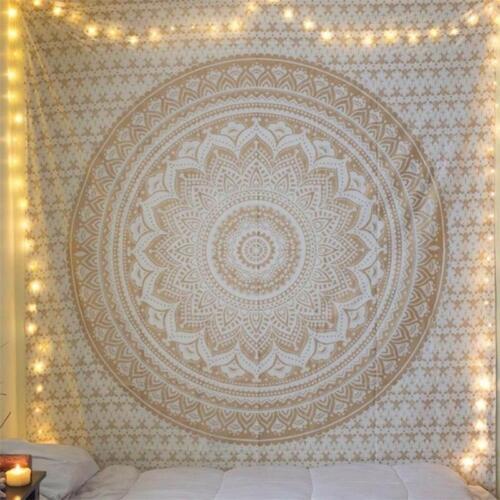 Mandala Tapestry Wall Hanging Bohemian Beach Mat Towel Thin Blanket Yoga Shawl