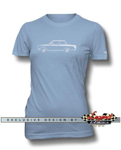 Lotus Cortina MKI T-Shirt for Women British Car Multiple Colors and Sizes