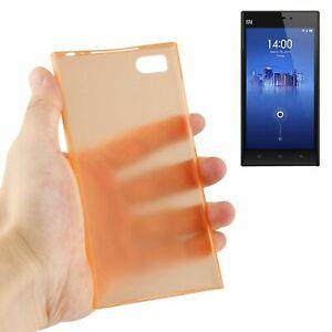 Étui de Protection Très Fin Housse Rahmen Cadre Pour Portable Romaric MI3 Orange