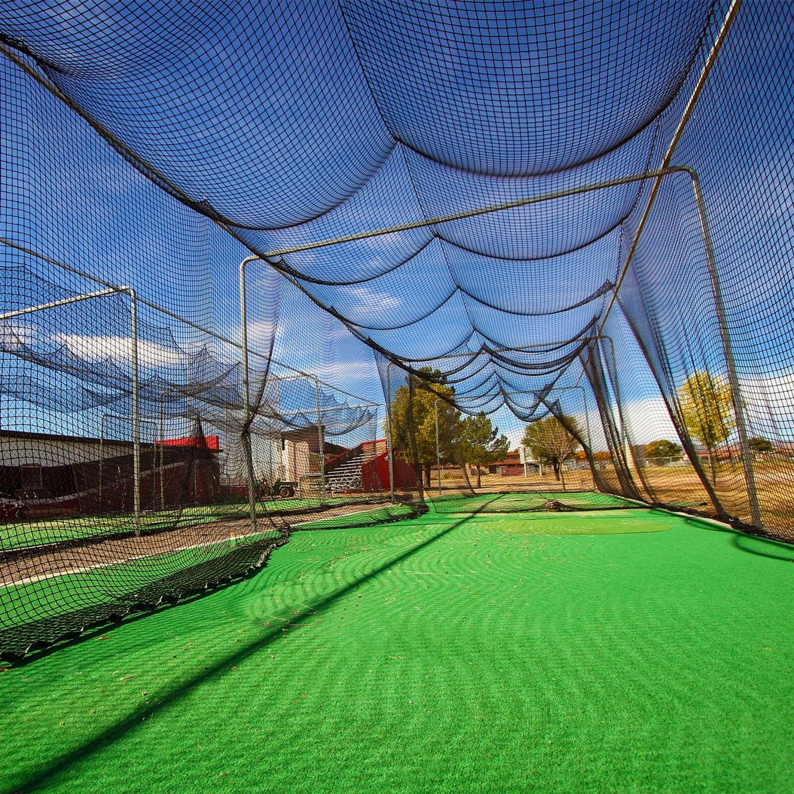FORTRESS 20ft (6.1m) Baseball Batting Cage Replacement Net [Net World Sports]