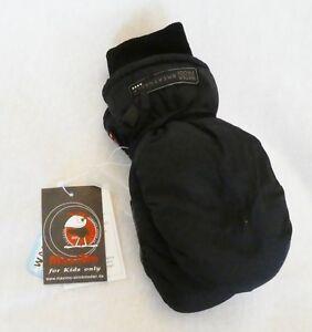Faust-ski-handschuhe Gefütt. Wasserdicht Mit Strickbündchen 2-farbig In 6 Größen Verkaufsrabatt 50-70%