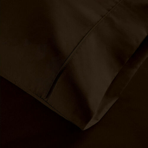 Tremendous 4 PCs Sheet Set 1000 TC Egyptian Cotton Solid Colors King Size