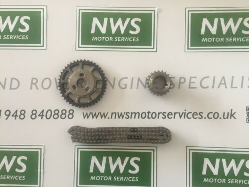 TIMING CHAIN KIT LHA000030 LAND ROVER DEFENDER /& DISCOVERY 2 TD5