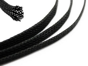 Geflechtschlauch GS METERWARE Gewebeschlauch Kabelschutz Polyester Kabelschlauch