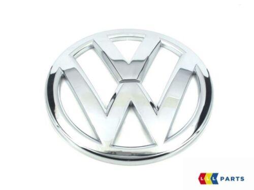 NEW GENUINE VW SCIROCCO 15-17 FRONT REAR CHROME BONNET BADGE EMBLEMS PAIR SET