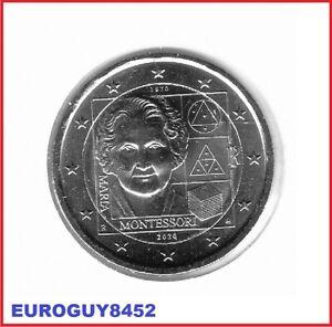 ITALIE - 2 € COM. 2020 UNC - MARIA MONTESSORI