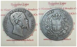 1589-1861-Vittorio-Emanuele-II-Roi-Elu-2-Livres-1860-Florence-Rares