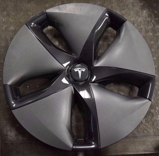 "18 2018 Tesla Model 3 OEM Wheel Cover Hubcap 18"" 1044231 ..."