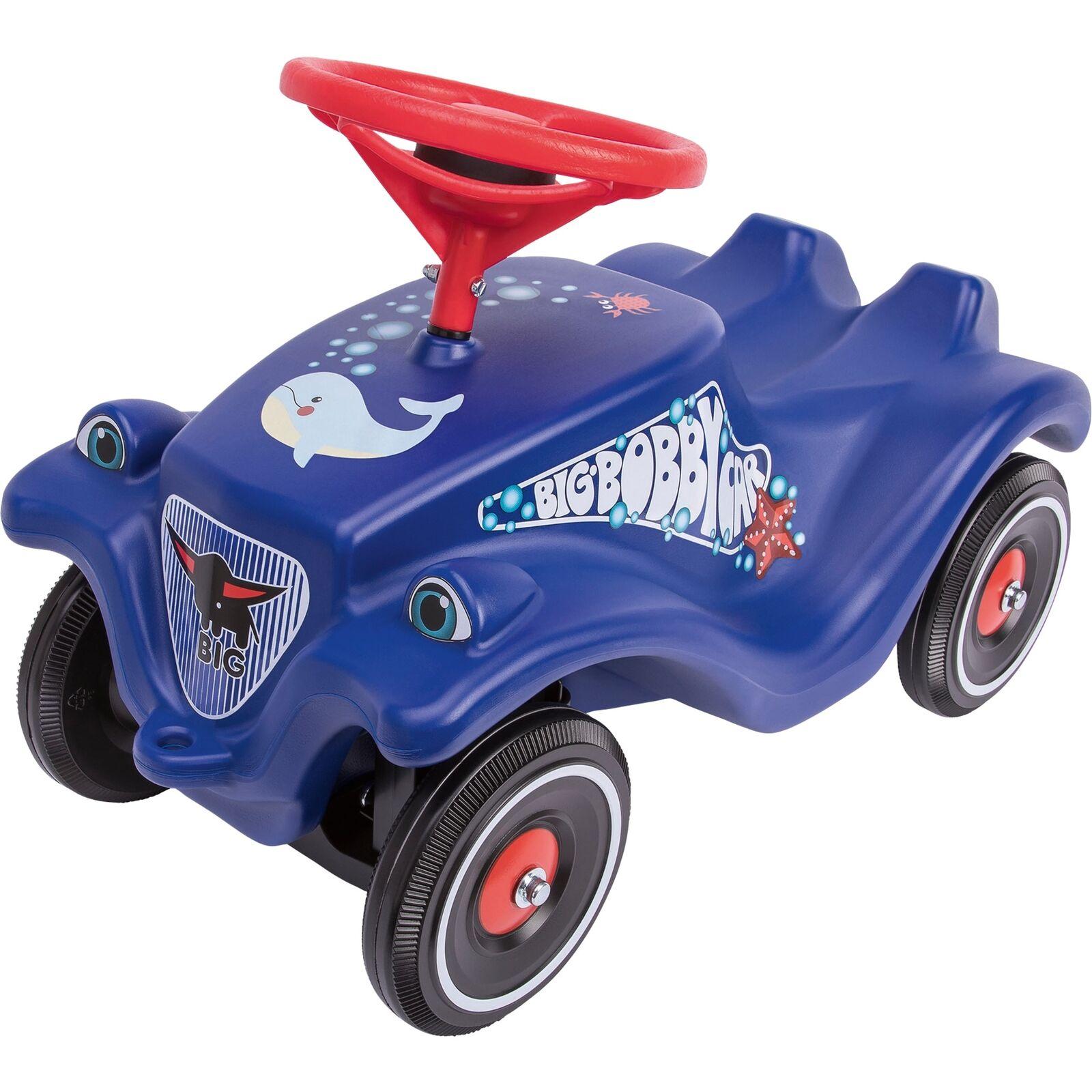 BIG Bobby Car Classic Ocean + Polis, Rutscher, dunkelblau