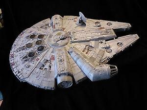 Details about Star Wars Millennium Falcon Studio Scale 72cm long + LED  LIGHTS IN ENGINE
