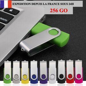 Cle-usb-256-Go-Gb-Pendrive-USB-2-0-Flash-Drive-sous-Blister-Memoire-Lecteurs-usb