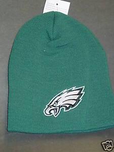Image is loading NFL-Philadelphia-Eagles-Knit-Winter-Hat-NEW-Green- 9ef13f997
