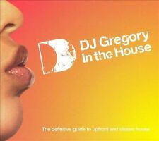 DJ GREGORY IN THE HOUSE (3CD SET) Guide To Upfront & Classic House **NEW CD**
