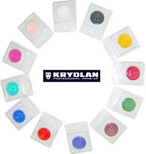 KRYOLAN-AQUACOLOR-4-ml-cialda-truccabimbi-trucco-professionale