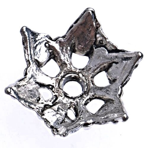40 Perlenkappen Perlkappen 15mm Tibet Silber Spacer Schmuck Zwischenperlen M234
