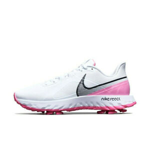 Details about Nike 2020 Men's Infinity Pro W Golf Shoes White Pink  CT6621-101 Size 5-9