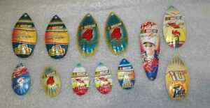 Lot-of-12-Nascar-Fishing-Spoons