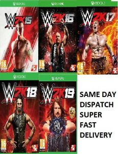 WWE-2K-Xbox-One-Assorted-Games-MINT-Same-Day-Dispatch-via-Super-Fast-Delivery