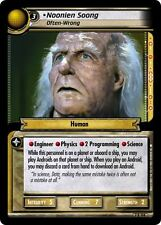 Star Trek CCG 2E SNW Strange New Worlds Noonien Soong, Often-Wrong 7R104