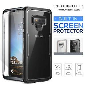 quality design ca848 0a391 Details about YOUMAKER Samsung Galaxy Note 9 Crystal Clear Shockproof  Full-body Case Cover
