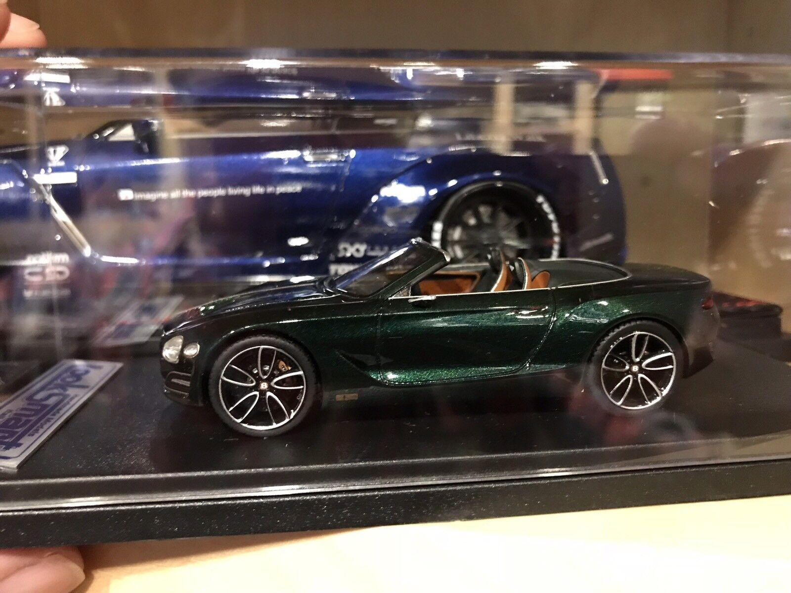 Bentley EXP Speed 12 6e-EXP verde-Looksmart - 1:43