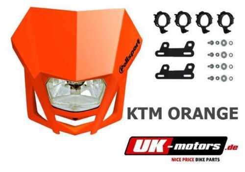 Polisport LMX Lampenmaske Orange HM-Moto CRE-F 125 CRE-F 250 290