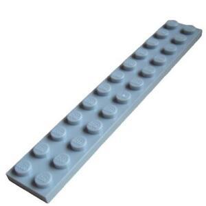 Lego-10-Stueck-Platte-2x12-in-hellgrau-light-bluish-gray-2445-Neu-Platten-City
