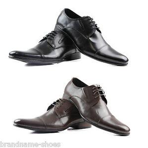 MENS-ZASEL-BLACK-BROWN-LEATHER-LACE-UP-WORK-FORMAL-DRESS-WEDDING-SHOES-CASTRO