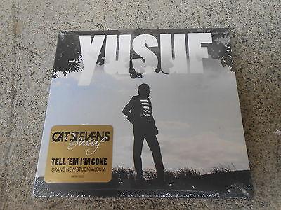 Adroit Yusuf-cat Stevens-tell 'em I'm Gone-cd-digipak-hype Sticker-factory Sealed-new With The Best Service Music