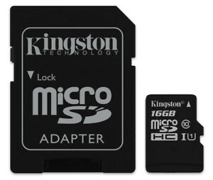 16GB Kingston micro SD HC Memory Card For Samsung Galaxy Ace S5830 Mobile Phone 5021001100167